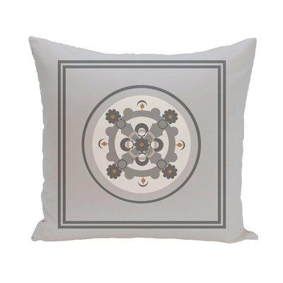 Souihla Geometric Print Outdoor Pillow Color: Rain Cloud, Size: 16