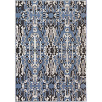 Hasselt Gray/Navy Area Rug Rug Size: Rectangle 54 x 78