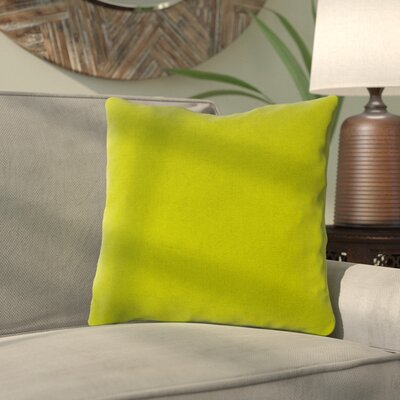 Majorelle Outdoor Throw Pillow Color: Echo Limelight