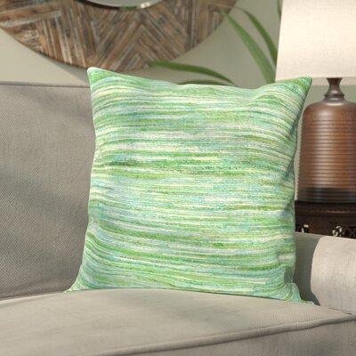 Hory Throw Pillow Color: Sea Green