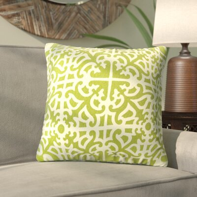 Alla Outdoor Throw Pillow Color: Grass