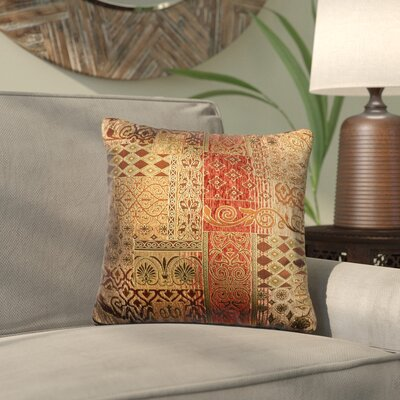 Lenzee Throw Pillow Size: 16 H x 16 W x 6 D