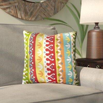 Palmerai Outdoor Throw Pillow Color: Cotrell Garden