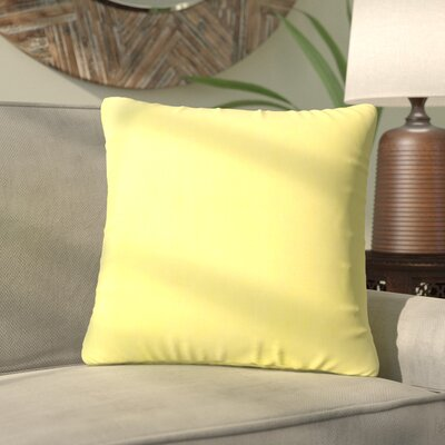 Quaria Throw Pillow Color: Sunbeam