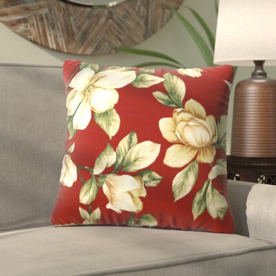 Alla Outdoor Throw Pillow Color: Roma Floral