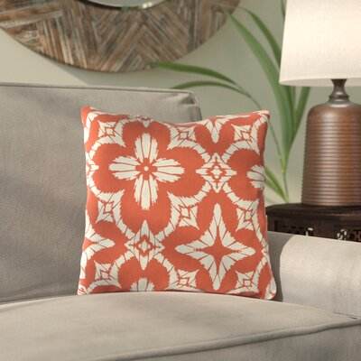 Boualam Outdoor Throw Pillow Color: Aspidoras Coral