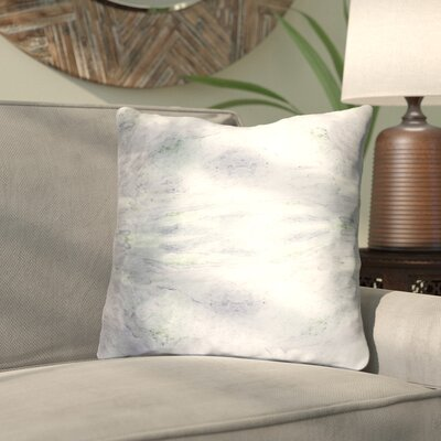 Antram Silk Throw Pillow Size: 22 H x 22 W x 4 D, Color: Gray/Neutral