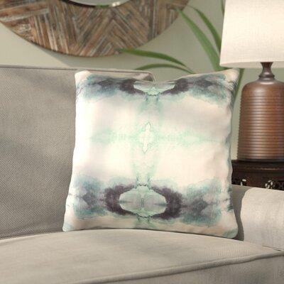 Antram Silk Throw Pillow Size: 20 H x 20 W x 4 D, Color: Neutral/Green