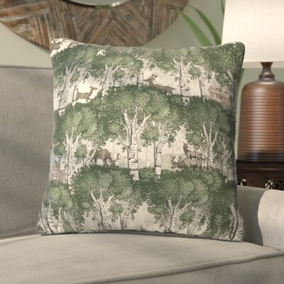 Silkeborg Secret Forest Throw Pillow Size: Large