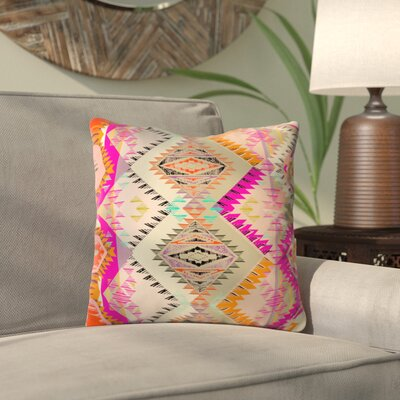 Demina Indoor/Outdoor Throw Pillow Size: 20 H x 20 W x 6 D