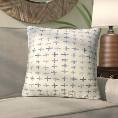 Daniela Cross Batik Throw Pillow