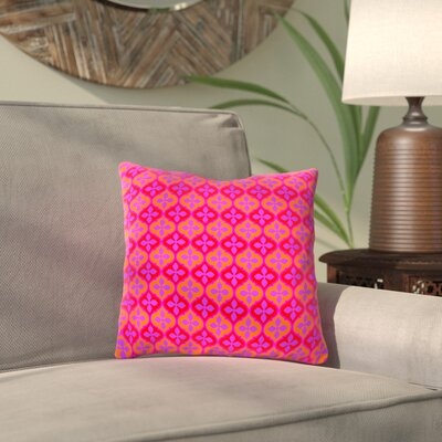 Camak Mystic Throw Pillow Size: 18 H x 18 W x 2 D