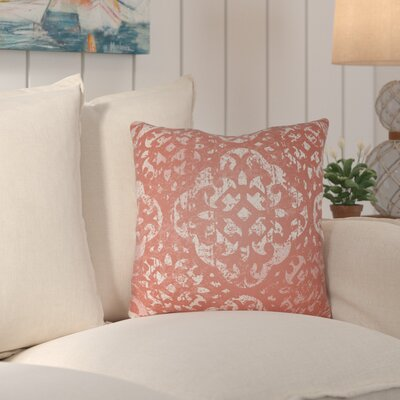 Kendra Throw Pillow Size: 22 H x 22 W x 4 D, Color: Rust