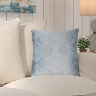 Antram Silk Throw Pillow Size: 18 H x 18 W x 4 D, Color: Blue