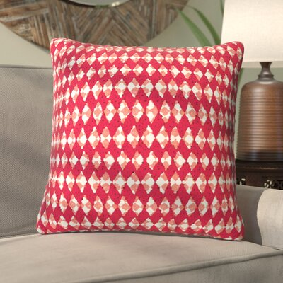 Oosterhout Holiday Throw Pillow Size: Large, Color: Red