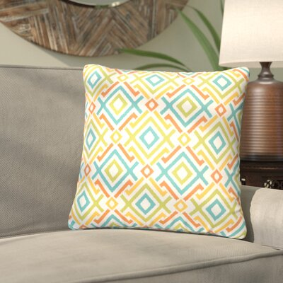 Terneuzen Indoor/Outdoor Throw Pillow Size: 20 H x 20 W