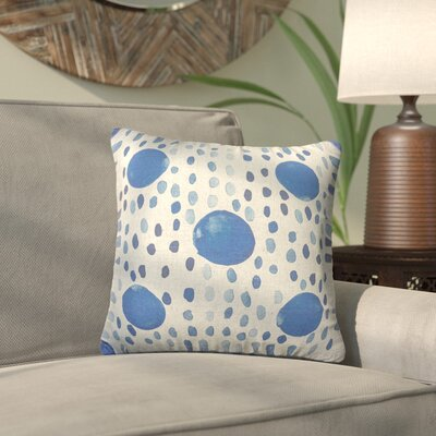 Carlotta Dot Throw Pillow Size: 18 H x 18 W x 8 D