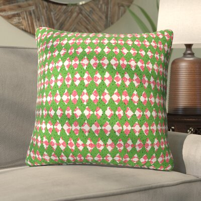 Oosterhout Holiday Throw Pillow Size: Small, Color: Rose