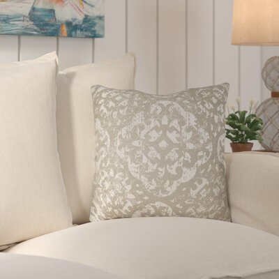 Libchava Throw Pillow Size: 20 H x 20 W x 4 D, Color: Grey
