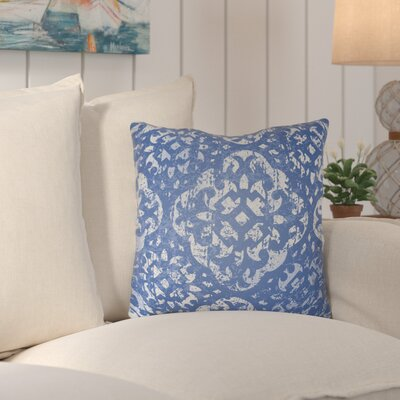 Kendra Throw Pillow Size: 22 H x 22 W x 4 D, Color: Blue