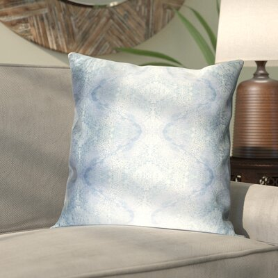 Antram Silk Pillow Cover Size: 22 H x 22 W x 1 D, Color: Blue