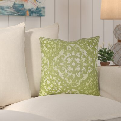 Kendra Throw Pillow Size: 22 H x 22 W x 4 D, Color: Green