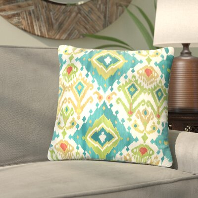 Camille Indoor/Outdoor Throw Pillow Size: 22 H x 22 W