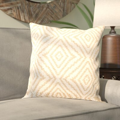Ashcom Jute/Cotton Throw Pillow