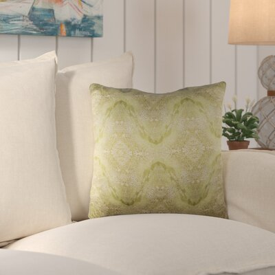 Antram Silk Throw Pillow Size: 18 H x 18 W x 4 D, Color: Neutral/Green