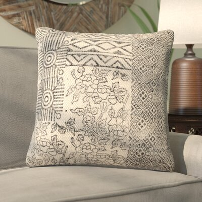 Ellery Square 100% Cotton Throw Pillow