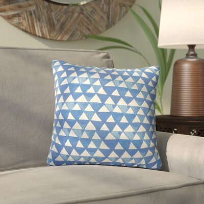 Carlotta Handmade Geometric Throw Pillow Size: 18 H x 18 W x 8 D