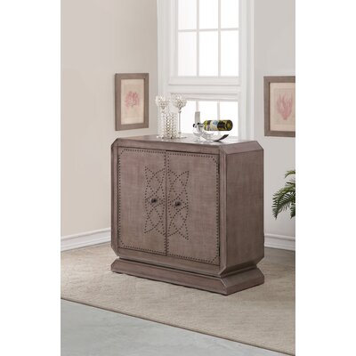 Kadence 2 Door Bar Cabinet with Wine Storage