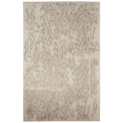Uriah Hand-Tufted Ivory/Tan Area Rug Rug Size: 2 x 3