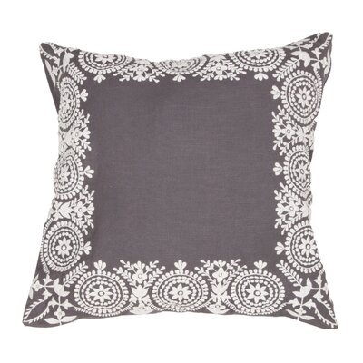 Rodney Floral Cotton Throw Pillow