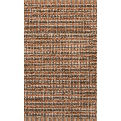 Roy Orange/Taupe Solid Rug