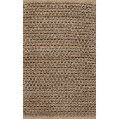 Roy Taupe/Blue Solid Rug