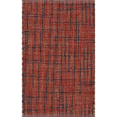 Roy Red/Purple Solid Rug