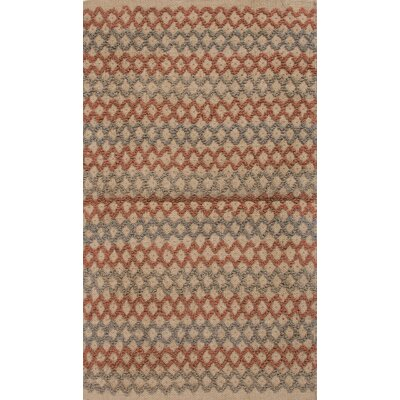 Roy Orange/Gray Solid Rug