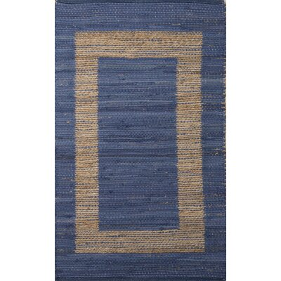 Kasen Blue/Taupe Natural Area Rug