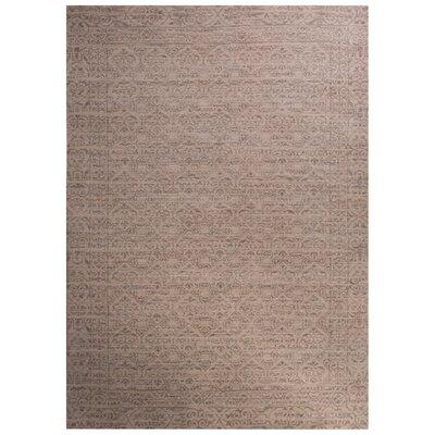 Julien Ivory/Gray Area Rug Rug Size: 2 x 3