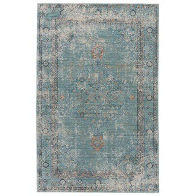 Javon Porcelain Green/Chili Pepper Area Rug Rug Size: 5 x 8