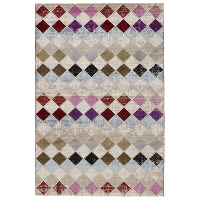 Terrance Cobblestone Area Rug Rug Size: Rectangle 76 x 96