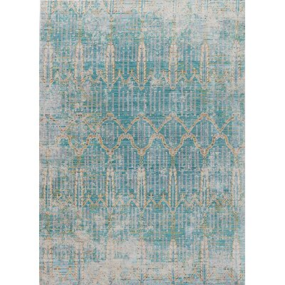 Javon Blue Area Rug Rug Size: Rectangle 9 x 12