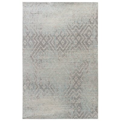 Javon Dove/Angora Area Rug Rug Size: 2' x 3'