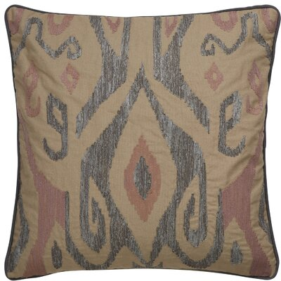 Jadon Tribal Pattern Cotton Throw Pillow Color: Grey