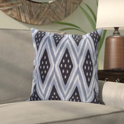 Sabrina Geometric Print Outdoor Pillow Color: Bewitching, Size: 18 H x 18 W x 1 D