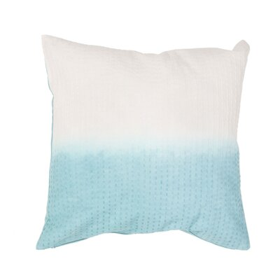 Jermaine Tribal Pattern Cotton Lumbar Pillow Color: Light Blue