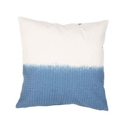 Jermaine Tribal Pattern Cotton Lumbar Pillow Color: Blue