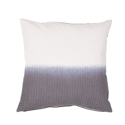 Jermaine Tribal Pattern Cotton Lumbar Pillow Color: Grey
