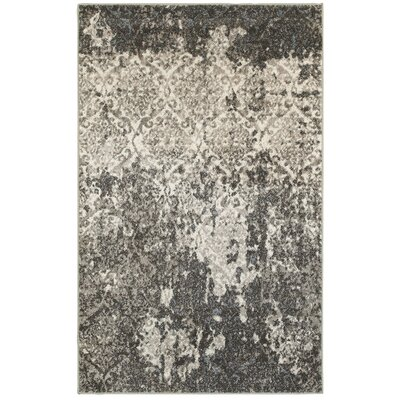 Fayme Black/Tan Area Rug Rug Size: 52 x 72